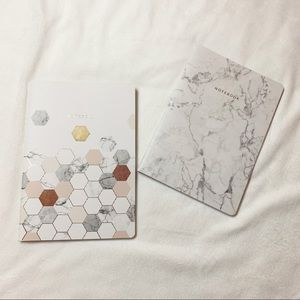 Indigo Chapters Marble Design Lined Notebooks